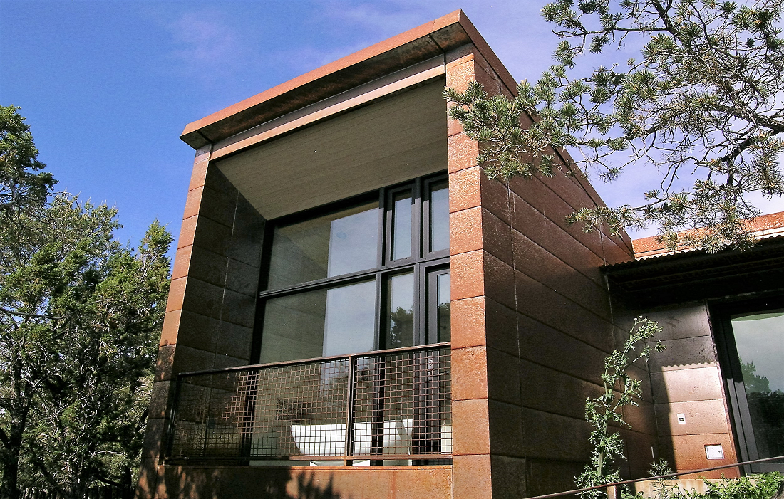 Cor-ten Weathering Steel Cladding