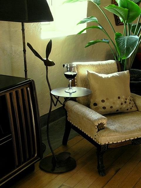 La Posada Hotel 'Jackrabbit' Table - Handcrafted Steel with Patina