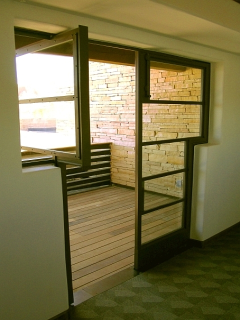 Custom Steel 'T' Doors - Acoma Sky City Cultural Center, NM