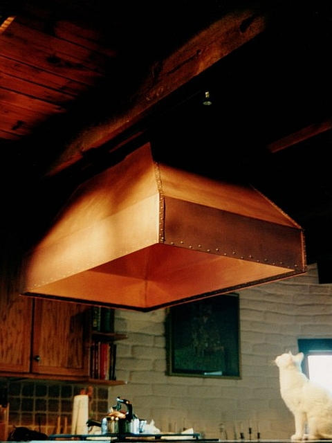 Copper Ventilation Hood