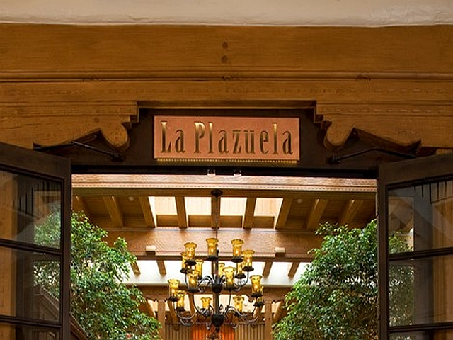 La Plazuela Restaurant at the La Fonda Hotel in Santa Fe, NM